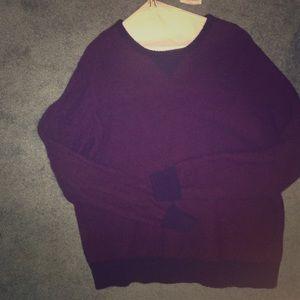 J. Crew wool sweater.